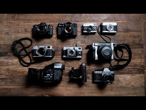 Meet My Film Cameras