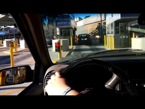 Crossing the San Ysidro International Border as seen #throughtheglass