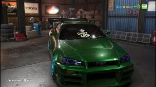 Need for Speed™ Payback Abandoned Car of the week Nissan skyline