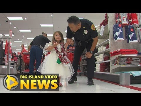 Shop With A Cop In Hilo Target Store (Dec. 9, 2017)
