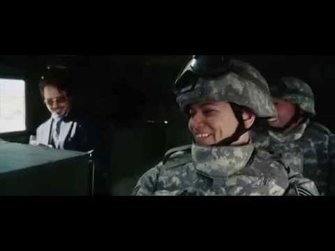 IRON MAN - Full Intro Scene - AC/DC