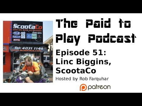Episode 51 Linc Biggins, ScootaCo