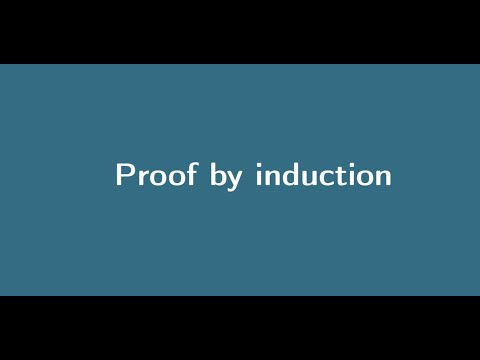 Proof by Induction thumbnail