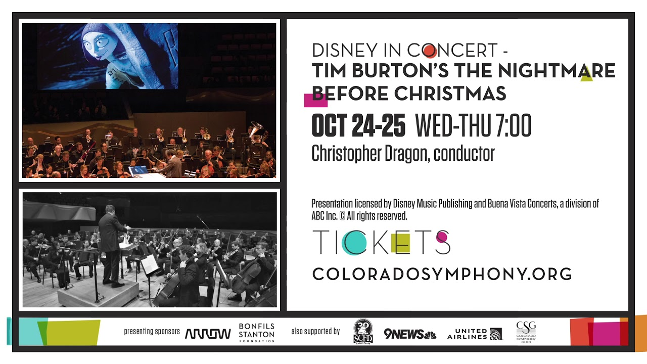 Disney in Concert: Tim Burton\'s The Nightmare Before Christmas - YouTube