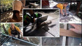 Укладка тротуарной плитки 30х30 мм на сухую смесь