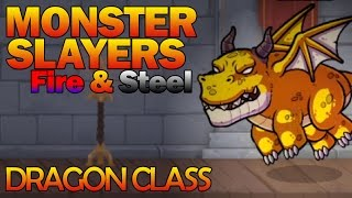 Monster Slayers Gameplay | Dragon Class [Monster Slayers Fire & Steel Expansion]