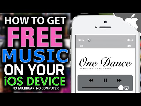 DOWNLOAD MUSIC for FREE on your iOS DEVICE! (NO JAILBREAK) (NO COMPUTER) iPhone iPad iPod Touch