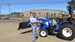 Commercial Bloopers - New Holland Workmaster 33 take 1