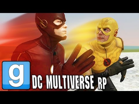 GMOD - I am the Fastest Man Alive (DC MultiverseRP)