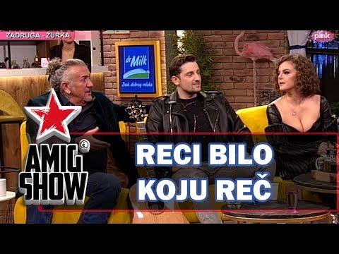 Reci Bilo Koju Re - Ami G Show S12 - E13