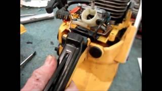 кАК ПРОВЕРИТЬ РАБОТУ ИГЛЫ КАРБЮРАТОРА Маленькие хитрости бензопилы,.Little tricks Chinese chainsaw