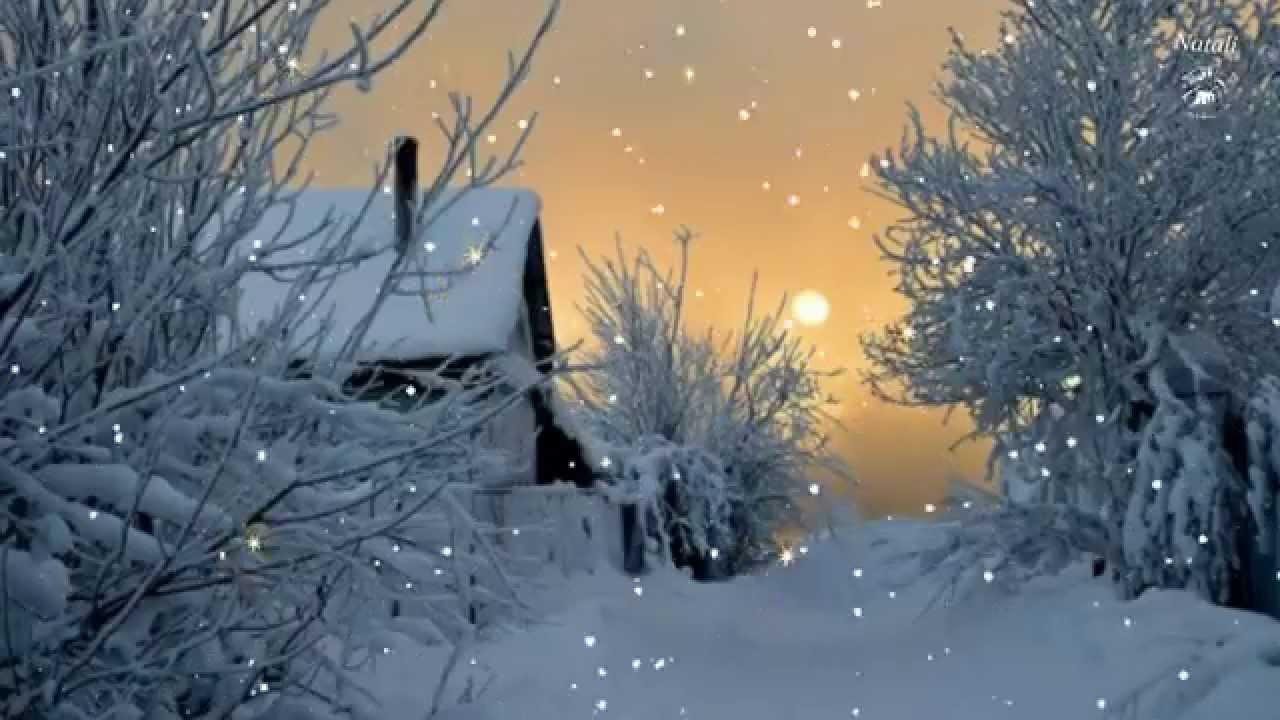 Волшебница зима и нежная мелодия. - YouTube