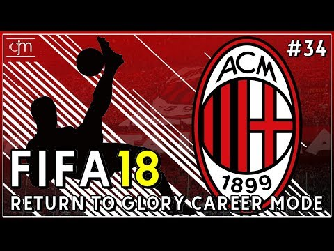 FIFA 18 AC Milan Career Mode: Dua Pemain Berbakat Milan Primavera Promosi Ke Tim Senior #34