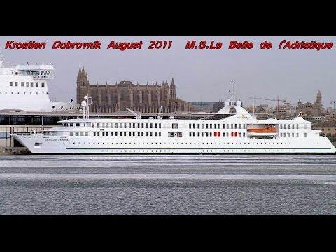 PDVideo 140 Croisière Kroatien   Montenegro MS La Belle de l`Adriatique Aug 2011