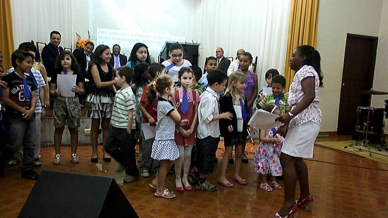 Musical Dia Dos Pais Evangelica: Apresentação Das Crianças No Dia Dos Pais, Igreja