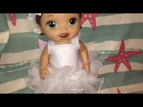 DIY ANGEL BABY ALIVE HALLOWEEN COSTUME! DIY BABY DOLL ANGEL ...