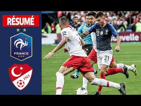 France Turquie (1-1), le résumé I Équipe de France 2019