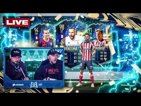 FIFA 21: LA LIGA TOTS Pack OPENING 🔥 Dual Stream mit Steini