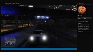 Xx_Darkknight37's Live PS4 Broadcast evening drive Park Ranger GTA5