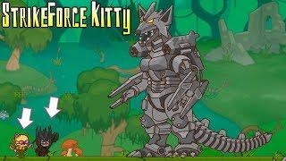 StrikeForce Kitty! Отряд котят против Босса Железного фокси! Боевой отряд котят!