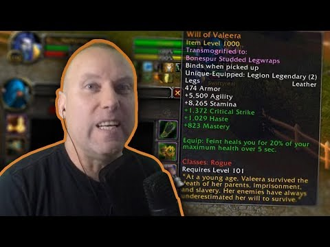 EVIL ROGUE LEGGINGS - Fury & Prot Warrior Dueling PvP Highlights - Legion 7.3.2