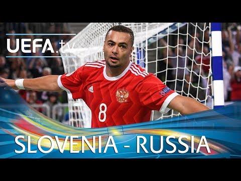 Futsal EURO highlights: Slovenia v Russia