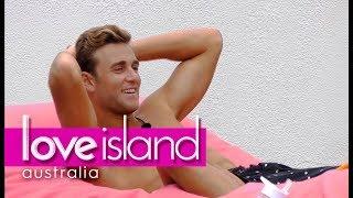 How did Josh and Kim sleep on their first night? | Love Island Australia 2018