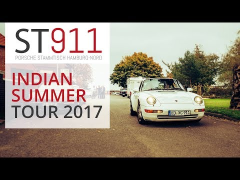 Porsche 911 Stammtisch Hamburg Nord : Indian Summer Tour 2017 Part 01