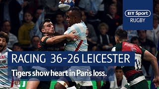 Racing 92 vs Leicester Tiger (36-26) | Heineken Champions Cup Highlights
