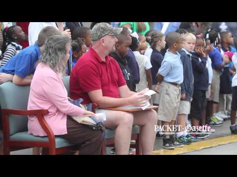 Whale Branch Elementary School honors James McDiffett, Jr  by planting tree in his name