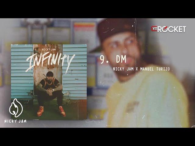 DM - Nicky Jam x Manuel Turizo   Video Letra