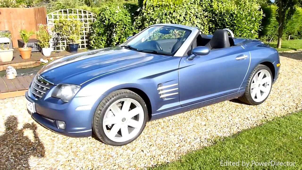 video review of 2006 chrysler crossfire convertible for sale sdsc specialist cars cambridge uk. Black Bedroom Furniture Sets. Home Design Ideas