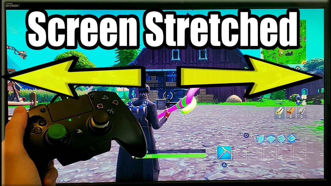 *NEW* HOW TO GET STRETCHED RESOLUTION IN FORTNITE PS4 (2019)