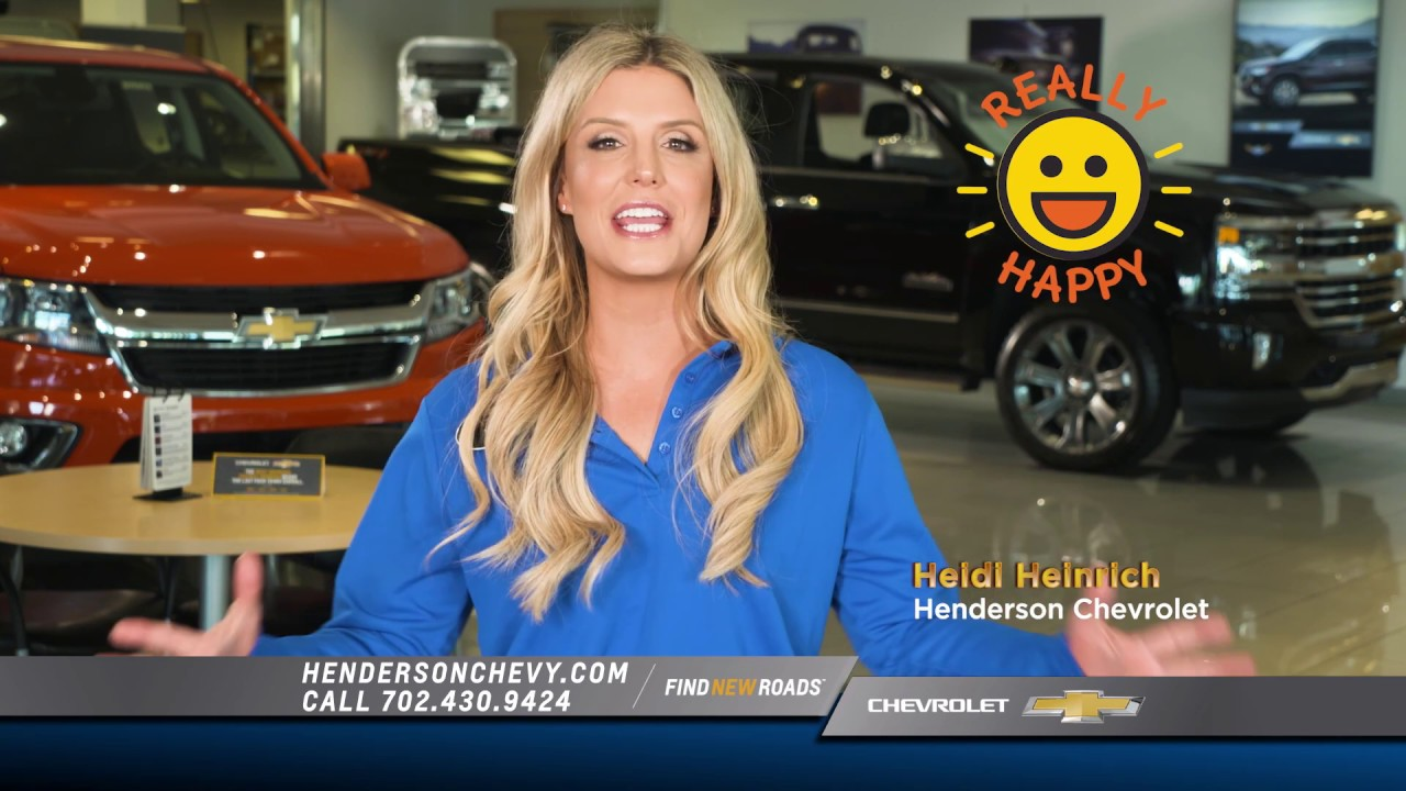 Henderson Chevrolet Black Friday 2018 Commercial