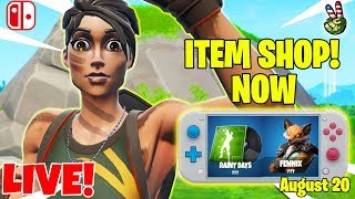 Fortnite Switch Player! // ITEM SHOP August 20, 2019 // (Fortnite Battle Royale LIVE) của EricMz 1 giờ trước 2.408 lượt xem