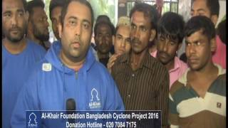 AL KHAIR FOUNDATION - CYCLONE ROANU HELP BANGLADESH DISTRIBUTION 05