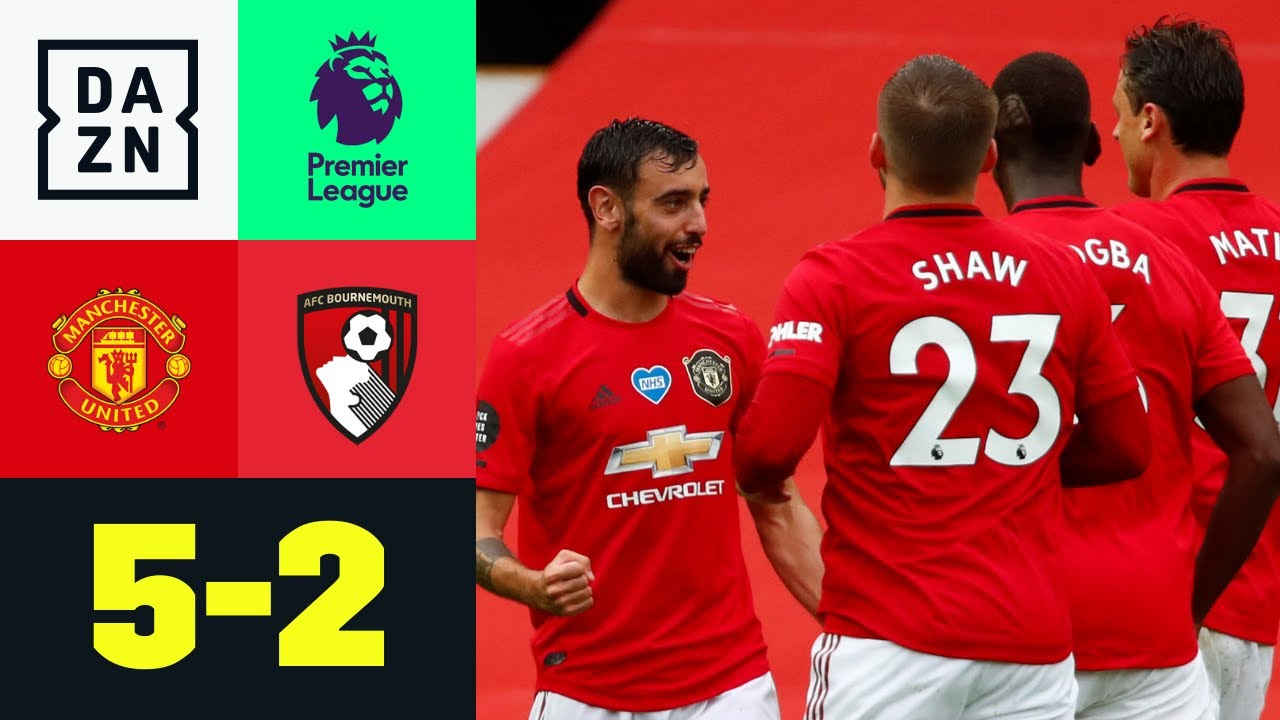 Manchester United vs Bournemouth (5-2) | Resumen y goles | Highlights Premier League