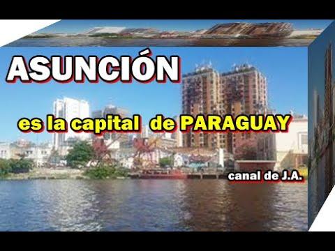 ASUNCIÓN es la capital  de PARAGUAY