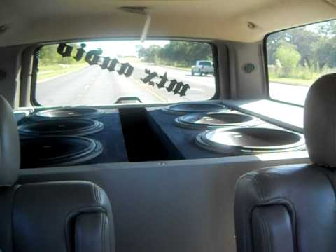 6 15 Inch Mtx Subwoofers Youtube