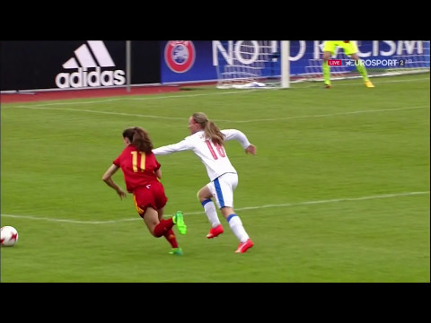 Women's Under-17 Euro 2016. Group A. Czech Republic - Spain (05/05/2017)