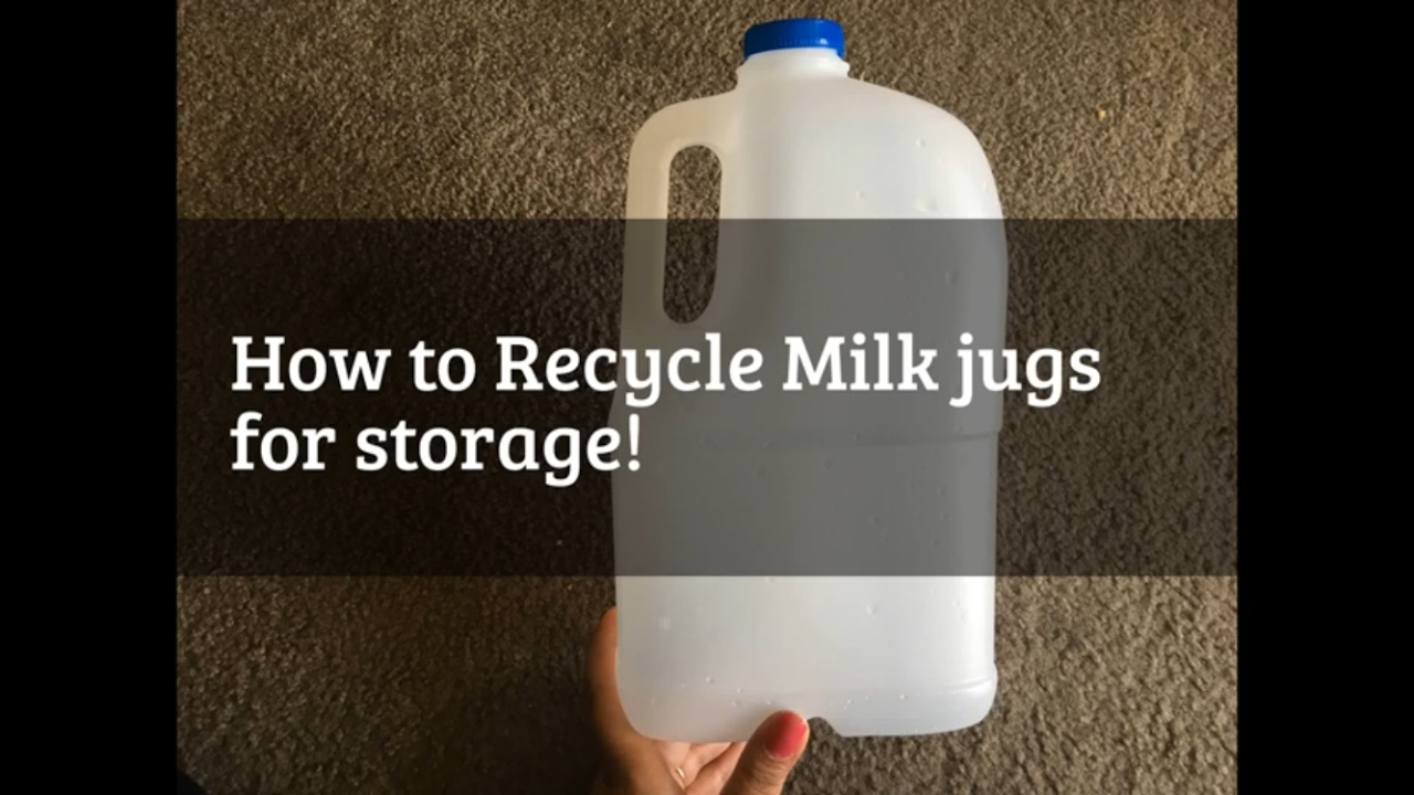 Milk Bottles For Decoration Recycle Milk Jugs At Home Possible Storage Ideas