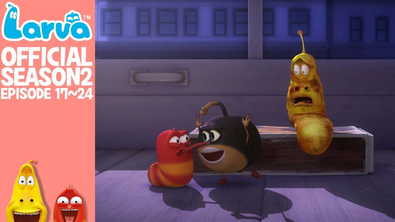 official larva season episode  official larva season 2 episode 17 24
