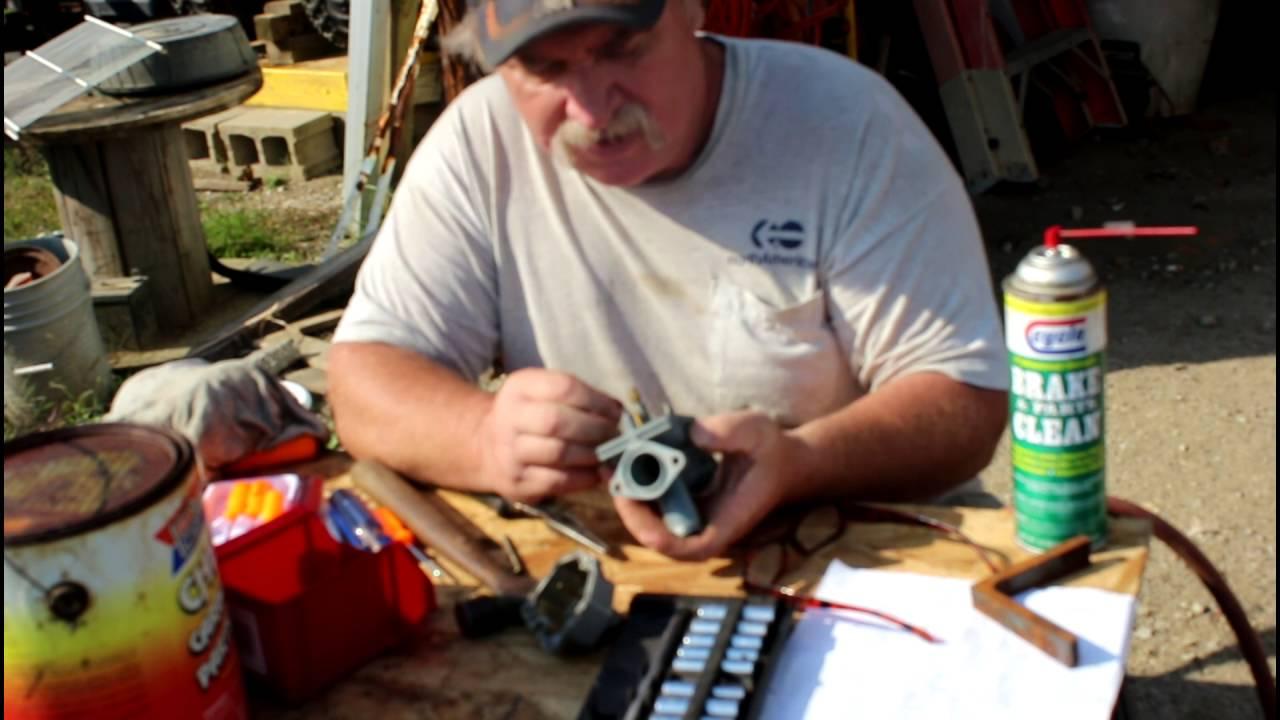 honda trx 200 carb rebuild part 1