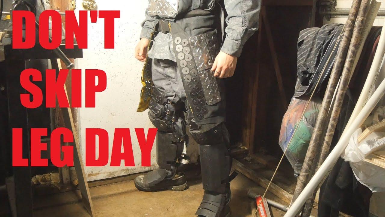 Build Apocalypse Samurai Haidate Thigh Armor Youtube
