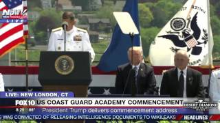 FNN: 2017 U.S. Coast Guard Academy Commencement Ceremony  (FULL EVENT)