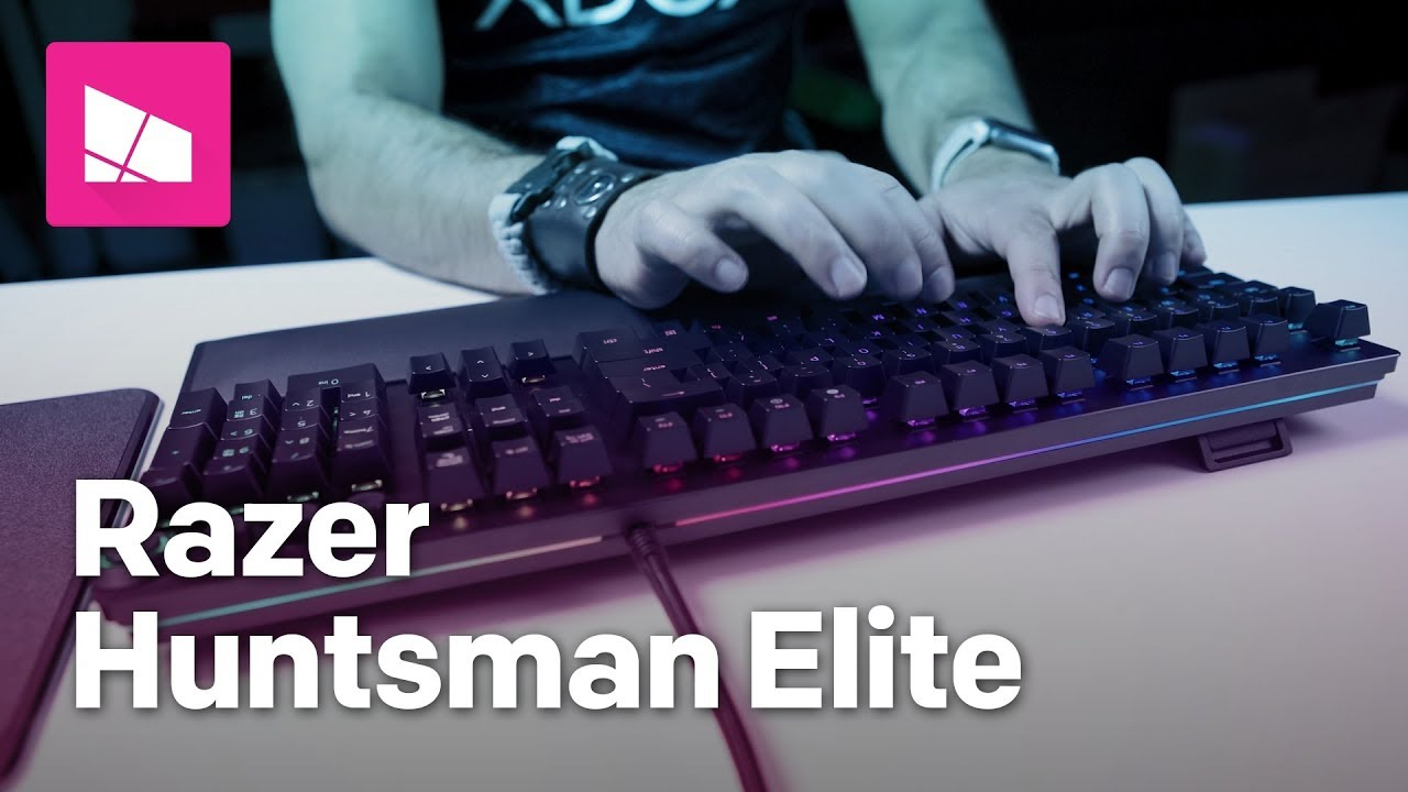 150b08e53f1 Razer Huntsman Elite keyboard review: A gaming-focused game changer ...