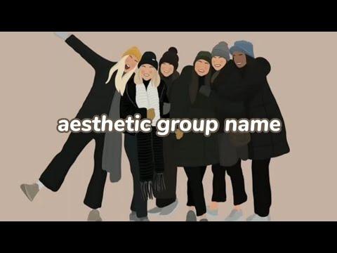 Fitur terakhir tersebut menjadi satu di. Aesthetic Grup Name Nama Grup Atau Kelompok Yang Aesthetic Youtube