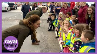 'Call Me Catherine' - Kate Middleton Charms Young Children During Orkney Marine Visit