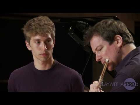Flute lessons, Emmanuel Pahud, Nielsen Flute Concerto, Play with a Pro