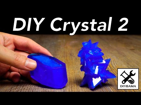DIY Crystal at Home (2) - Copper(II) Sulfate